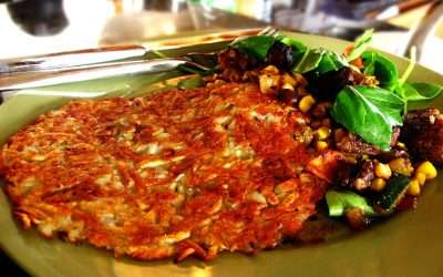 Quick Hash Browns, by The Roaming Gourmet Ze' Carter
