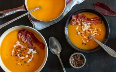 Roasted Butternut Squash and Turmeric Bisque by Ze Carter