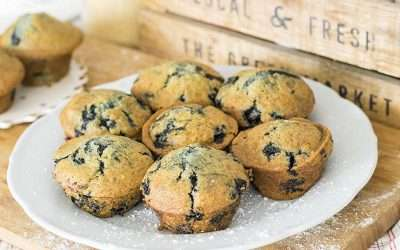 Ze's Blueberry Muffins