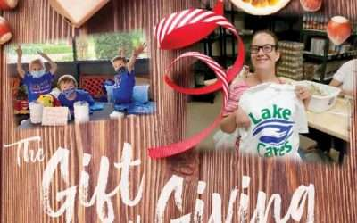 Lake Cares Volunteer Featured in Well Being Magazine December 2020